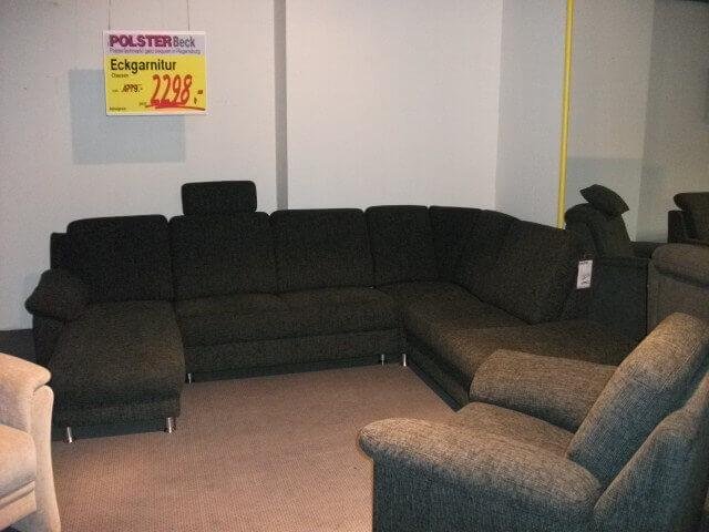 eckgarnitur clausen polster beck. Black Bedroom Furniture Sets. Home Design Ideas